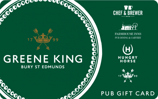 Greene King Gift Card UK