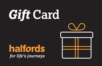 Halfords Gift Card UK
