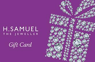 H Samuel Gift Card UK
