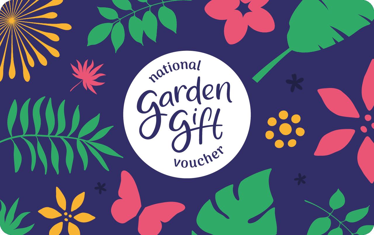 National Garden Gift Voucher Gift Card UK