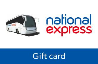 National Express Gift Card UK