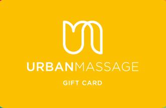 Urban Massage Gift Card UK
